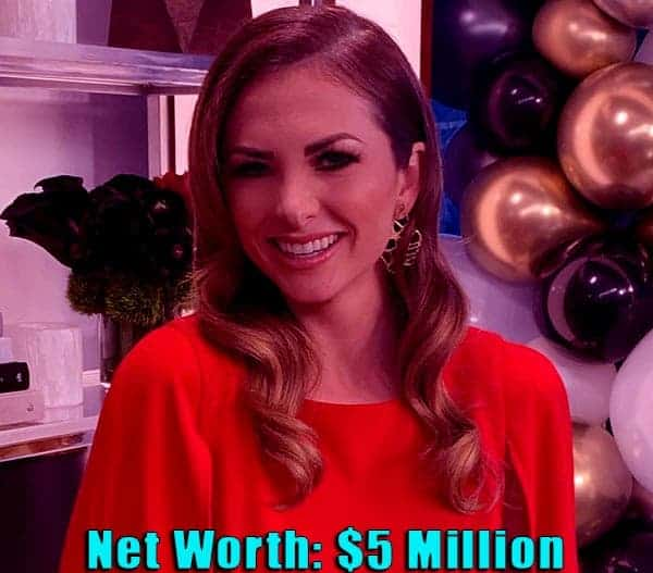 Image of TV Personality, Lauren Zima net worth is $5 million