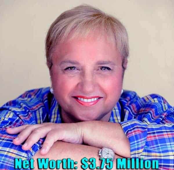 Image of American-Italian chef, Lidia Bastianich net worth is $3.75 million