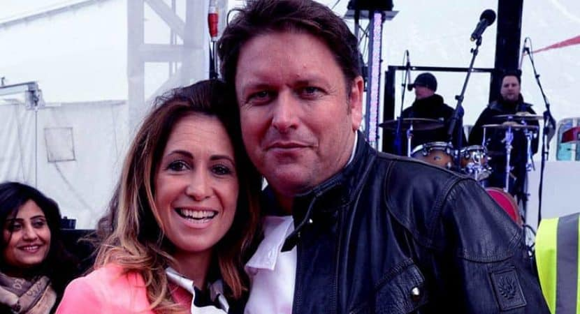 Image of Did James Martin and Louise Davies split