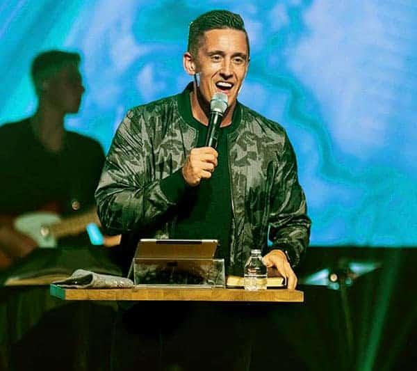 Image of English evangelist, Nathan Morris