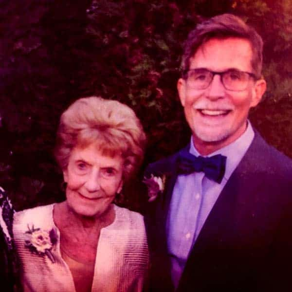 Image of Rick Bayless with his mother Levita Bayless