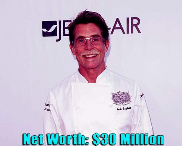 Image of American chef, Rick Bayless net worth is $30 million