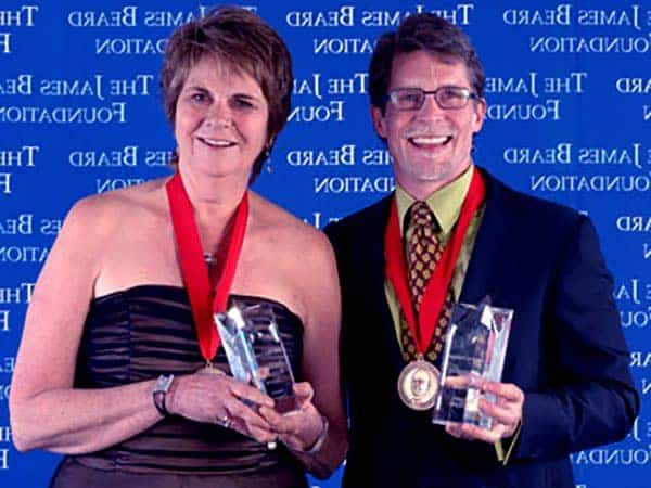 Image of Rick Bayless with his wife Deann Bayless.