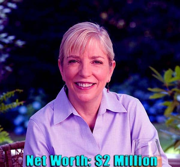 Image of American chef, Sara Moulton net worth is $2 million