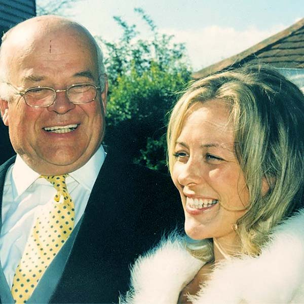 Image of Sarah Beeny with her father Richard Beeny