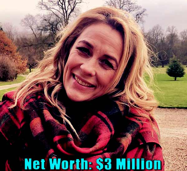 Image of Television presenter, Sarah Beeny net worth is $3 million