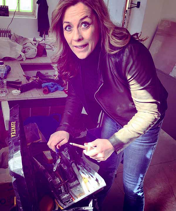 Image of Sarah Beeny from the TV show, Property Ladder,