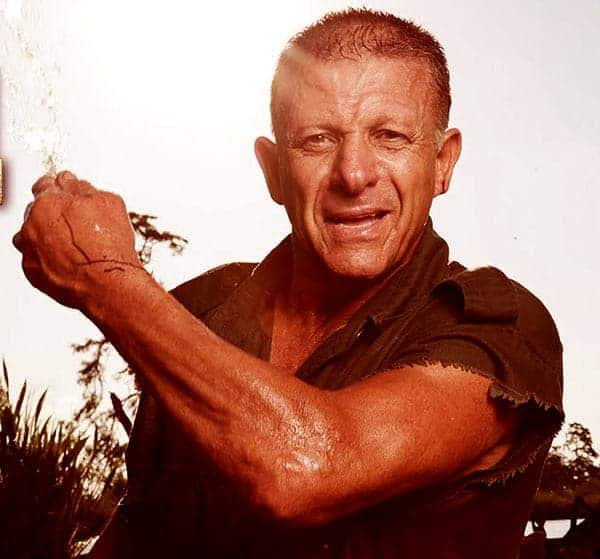 Image of Shelby Stanga from the TV show, The Return of Shelby the Swamp Man.