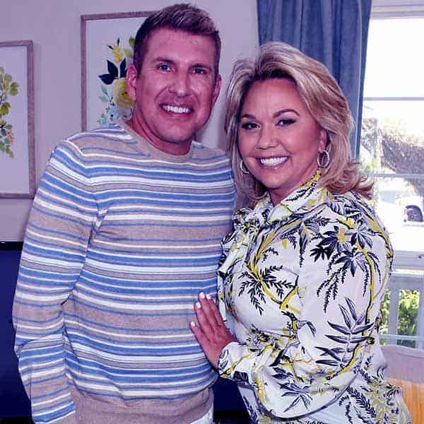 Image of Todd Chrisley with his wife Julie Chrisley