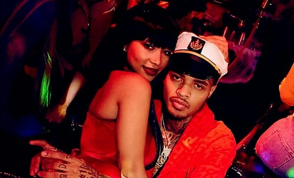 Image of Zonnique Pullins with her boyfriend Bandhunta Izzy