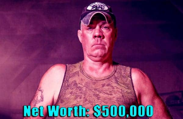 Image of Mountain monsters cast Wild Bill net worth is $500,000