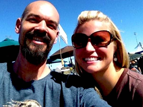 Aaron Goodwin with his Ex. Wife Sheena Goodwin