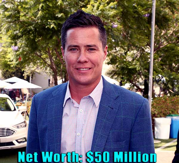 Image of TV Personality, Andrew Firestone net worth is $50 million