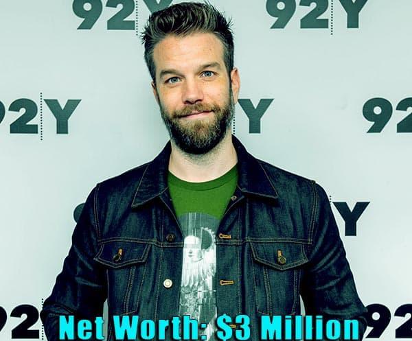 Image of Actor, Anthony Jeselnik net worth is $3 million