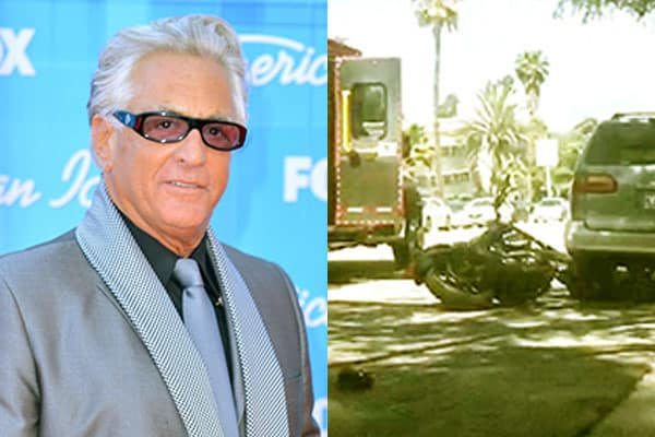 Image of TV Personality, Barry Weiss had a motorcycle accident on the 24th of April in Los Feliz, California
