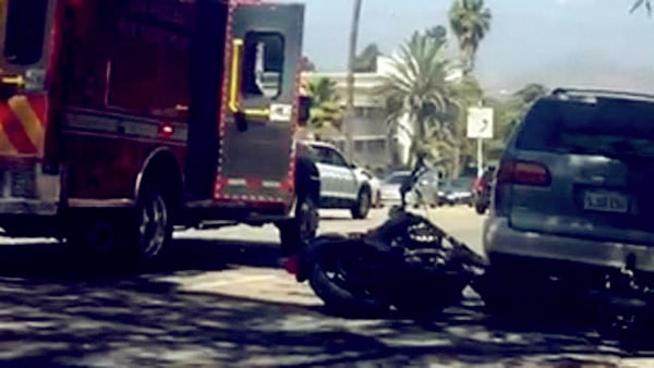 Image of Barry Weiss had a motorcycle crash in Los Angeles on April 2019