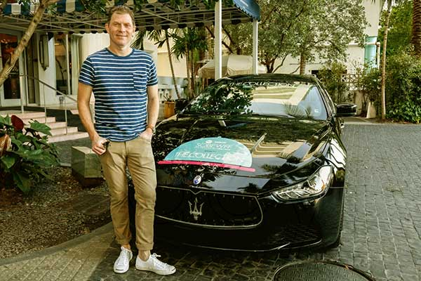 Image of TV Personality, Bobby Flay car