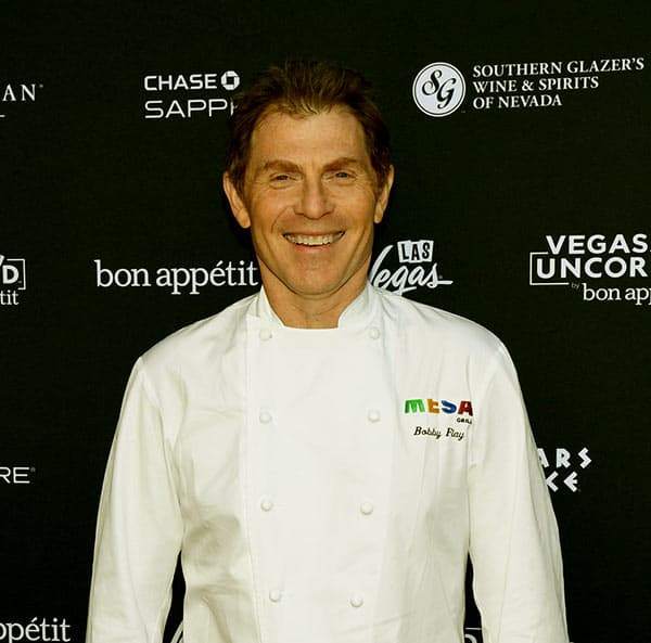 Image of American chef, Bobby Flay net worth is $30 million