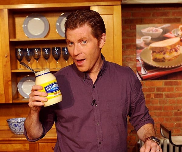 Image of Bobby Flay from the TV show, America's Next Great Restaurant