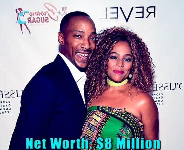 Image of Christopher Morgan wife Kim Field net worth is $8 million