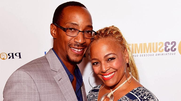 Image of Kim Fields Husband Christopher Morgan Biography