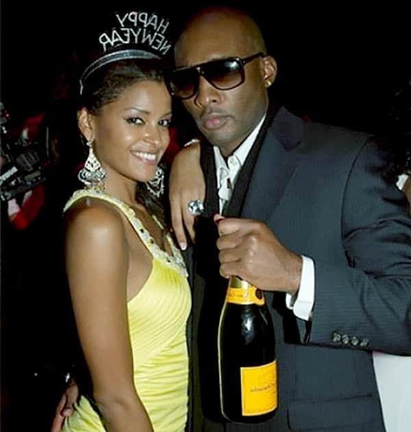 Image of Claudia Jordan with her ex-husband Datari Lamont Turner
