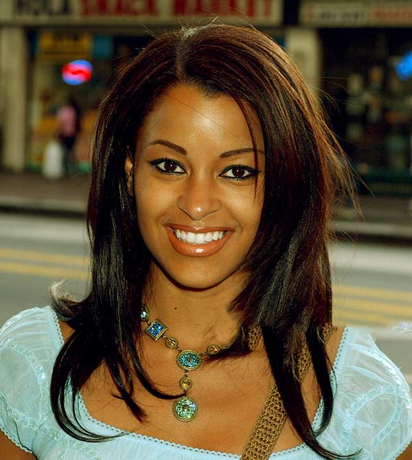 Image of American actress, Claudia Jordan net worth is $500,000