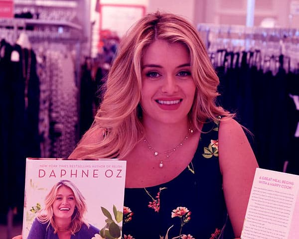 Image of American author, Daphne Oz