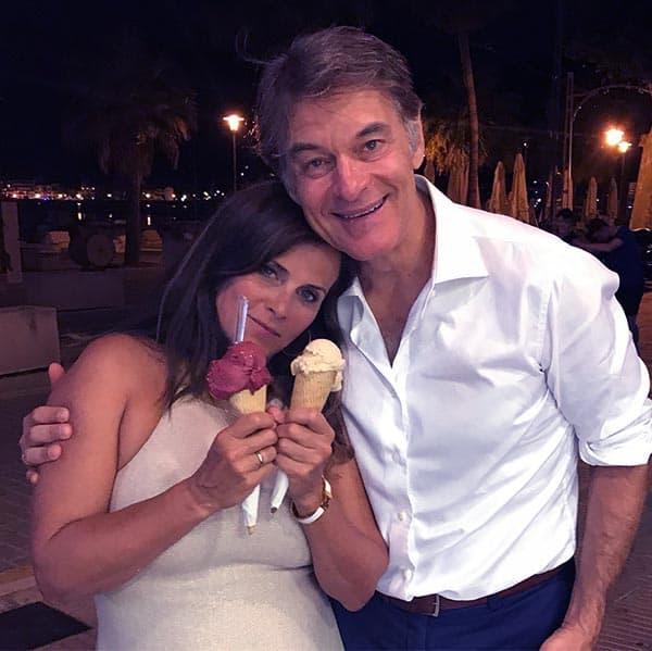 Image of Daphne Oz with her husband John Jovanovic