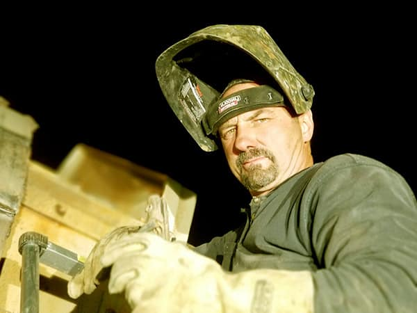 Image of Dave Turin from the TV reality show, Gold Rush