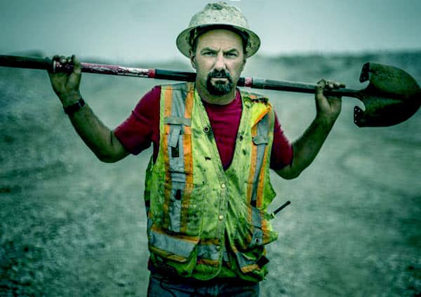 Image of Dave Turin from the TV reality show, Gold Rush: Dave Turin's Lost Mine