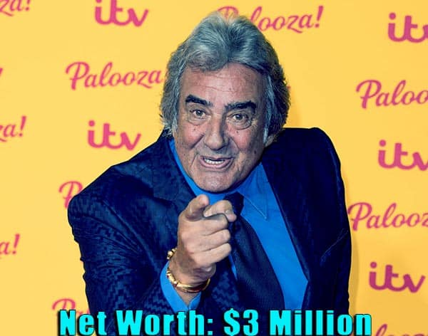 Image of Television presenter, David Dickinson net worth is $3 million