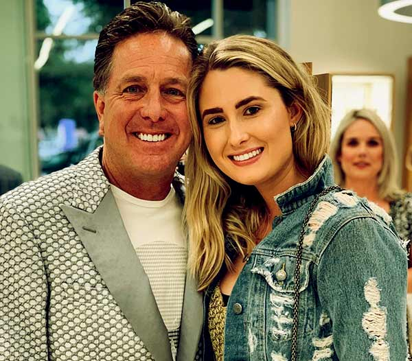 Image of Dennis Collins with his daughter Kelsey Collins.