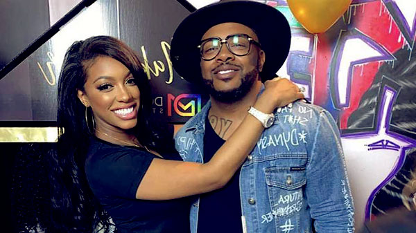 Image of Porsha Williams and Dennis McKinley from the TV reality show, The Real Housewives of Atlanta