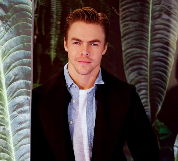 Image of American professional dancer, Derek Hough is not a gay