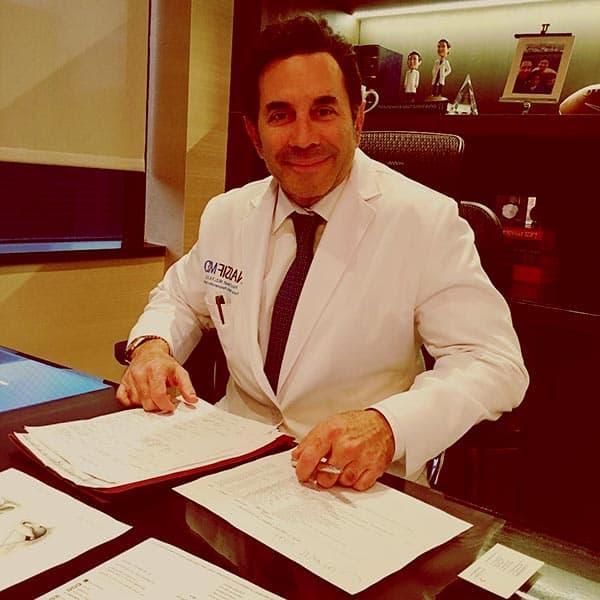 Image of American plastic surgeon, Dr. Paul Nassif net worth is $14 million