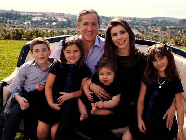 Dr. Terry Dubrow wife Heather Dubrow and Kids