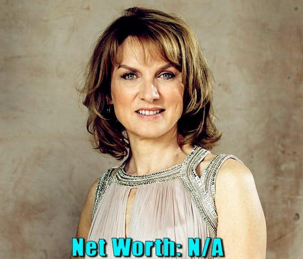 Image of Journalist, Fiona Bruce net worth is currently not available