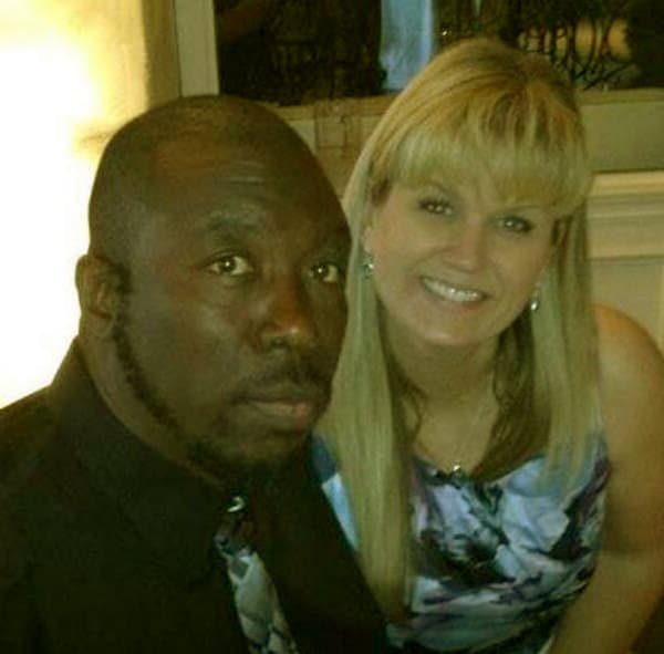 Image of Ivy Calvin iwith his wife Wendy Calvin.