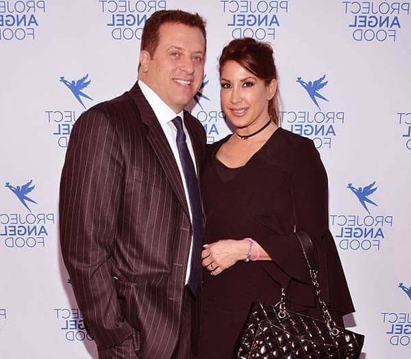 Image of Jacqueline Laurita with her husband Chris Laurita