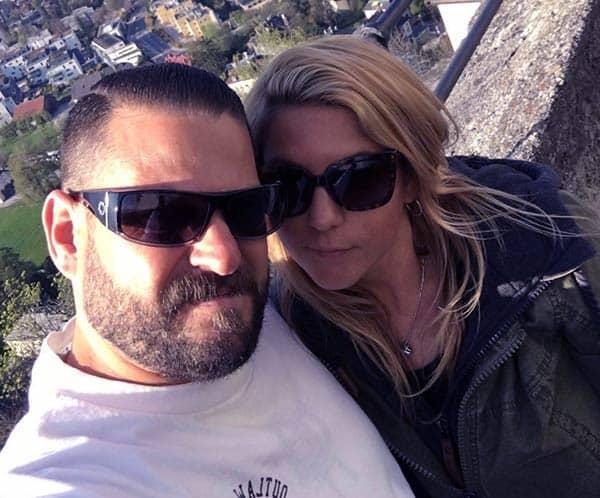 Image of Jarrod Schulz with his wife Brandi Passante