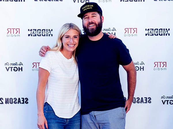 Image of Jasmine Roth with her husband Breth Roth