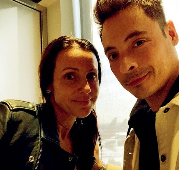 Image of Jeff Mauro with his wife Sarah Mauro