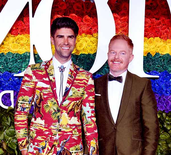 Image of Jesse Tyler Ferguson with his partner Justin Mikita