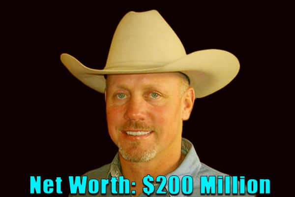 Image of American rancher, Ladd Drummond net worth is $200 million