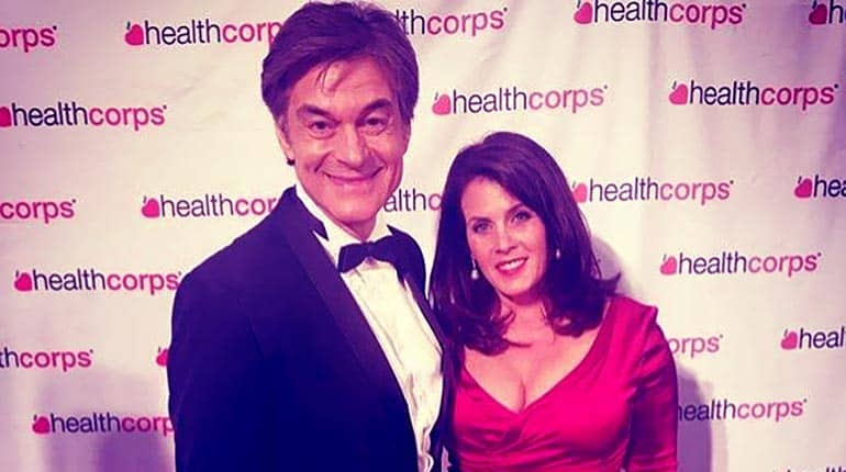 Image of Dr. Oz (Mehmet OZ) Wife LIsa Oz Biography.