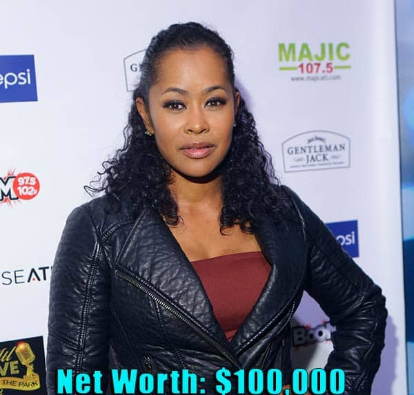 Image of TV Personality, Lisa Wu net worth is $100,000