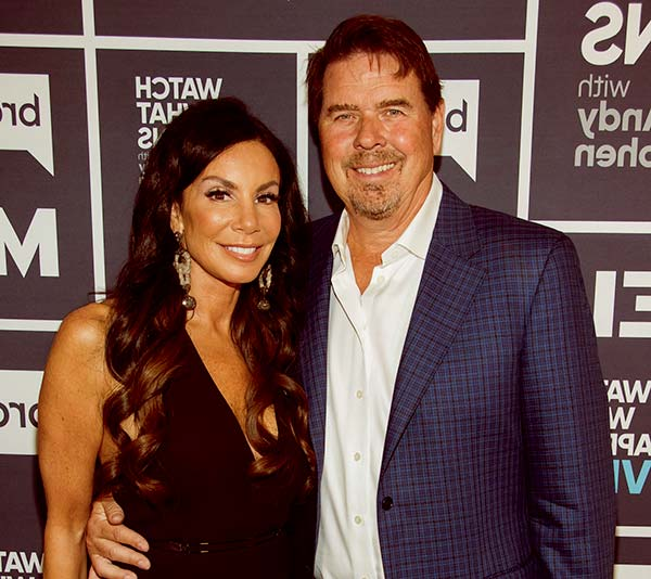Image of Marty Caffrey with his second wife Danielle Staub