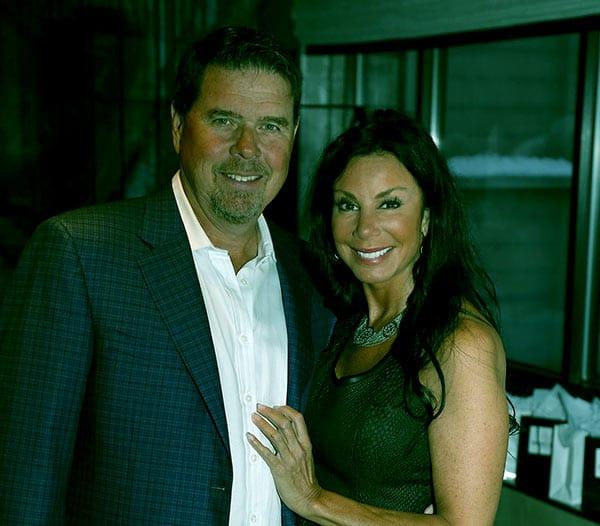 Image of Marty Caffrey wife Danielle Staub net worth is $3 million