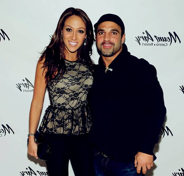 Image of Melissa Gorga with her husband Joe Gorga